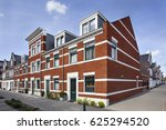 street corner with new built... | Shutterstock . vector #625294520