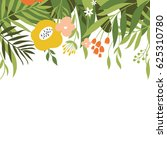 floral illustration | Shutterstock . vector #625310780