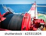 crane  pedestal crane winch ... | Shutterstock . vector #625311824
