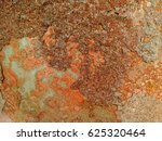surface of rusted steel. | Shutterstock . vector #625320464