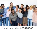 diverse people together... | Shutterstock . vector #625320560