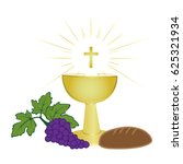 first communion symbols for a...   Shutterstock .eps vector #625321934