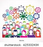 flat design illustration...   Shutterstock .eps vector #625332434