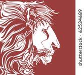 lion vector | Shutterstock .eps vector #62534689