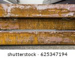 metal rusty  | Shutterstock . vector #625347194