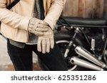 Motorcycle Kaferacers. Girl...