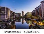 leeds  clarence dock | Shutterstock . vector #625358573