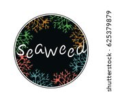 seaweed logo | Shutterstock .eps vector #625379879