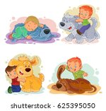 collection of clip art... | Shutterstock . vector #625395050