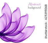 abstract purple flower on a... | Shutterstock .eps vector #625395068