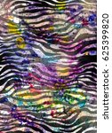 texture of print fabric striped ...   Shutterstock . vector #625399820