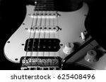 A Part Of Electric Guitar In...