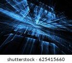abstract technology... | Shutterstock . vector #625415660