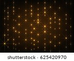 gold glow stars lines abstract... | Shutterstock .eps vector #625420970