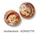 freshly baked almond rolls... | Shutterstock . vector #625431770