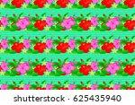 watercolor seamless pattern... | Shutterstock . vector #625435940