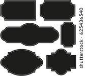 vector set vintage labels and...   Shutterstock .eps vector #625436540