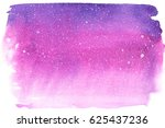 watercolor violet and pink... | Shutterstock . vector #625437236