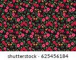 floral pattern. pretty flowers... | Shutterstock .eps vector #625456184