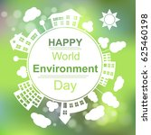 happy world environment day... | Shutterstock .eps vector #625460198