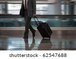 businessman in airport with... | Shutterstock . vector #62547688