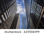 low angle view of skyscrapers... | Shutterstock . vector #625506599