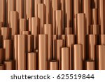 copper metal pipes on warehouse.... | Shutterstock . vector #625519844