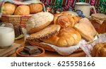 sweet bread assorted... | Shutterstock . vector #625558166