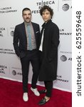 Small photo of New York, NY USA - April 21, 2017: Zachary Quinto, Miles McMillan attend Aardvark Premiere during 2017 Tribeca Film Festival at SVA Chelsea Theatre