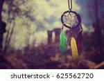 vintage dream catcher. | Shutterstock . vector #625562720