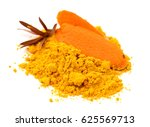 paprika powder isolated | Shutterstock . vector #625569713