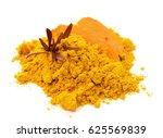 turmeric  curcuma  powder... | Shutterstock . vector #625569839