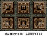 art deco geometric vintage... | Shutterstock .eps vector #625596563