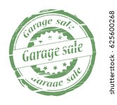garage sale grunge stamp.   Shutterstock . vector #625600268