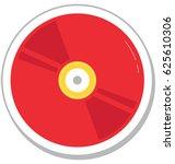 cd vector icon  | Shutterstock .eps vector #625610306