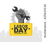 labor day | Shutterstock .eps vector #625614110