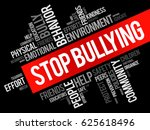 Stop Bullying Word Cloud...