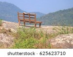 Lonely Chair In The Landscape...