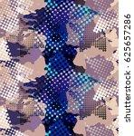 urban geometric seamless... | Shutterstock . vector #625657286