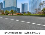 clean urban road with modern... | Shutterstock . vector #625659179