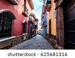jaen street  la paz  bolivia | Shutterstock . vector #625681316