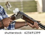 hunting rifle cartridges and... | Shutterstock . vector #625691399