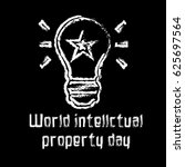 world intellectual property day | Shutterstock .eps vector #625697564