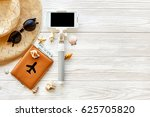 summer travel vacation concept... | Shutterstock . vector #625705820