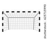 football or soccer gate icon... | Shutterstock .eps vector #625715990