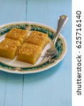 egyptian traditional sweet...   Shutterstock . vector #625716140