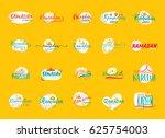 ramadan kareem   handmade... | Shutterstock .eps vector #625754003