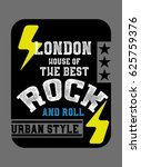 london house of the best rock... | Shutterstock .eps vector #625759376