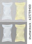 transparent packaging for... | Shutterstock .eps vector #625759400