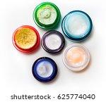 set of different cosmetics cream   Shutterstock . vector #625774040